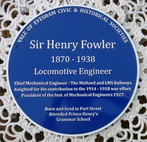 blue plaque for sir henry